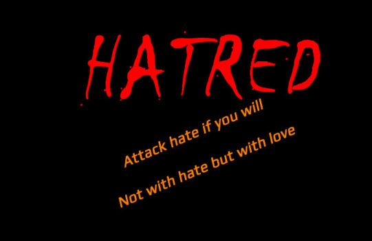HATRED AND EVIL